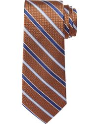 Jos. A. Bank Reserve Collection Micro-grid Tie - Orange