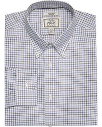 Jos. A. Bank - 1905 Collection Slim Fit Button-down Collar Grid Dress Shirt - Lyst