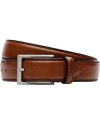 Jos. A. Bank Pebbled Casual Belt - Brown