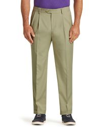 Jos. A. Bank - David Leadbetter Traditional Fit Pleated Front Golf Trousers - Big & Tall - Lyst