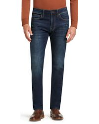 Jos. A. Bank - Reserve Collection Traditional Fit Dark Wash Jeans - Lyst