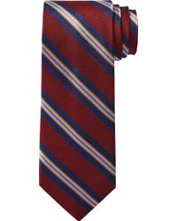 Jos. A. Bank Signature Collection Textured Stripe Tie