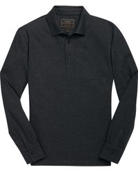 9a2adce5fc Ralph Lauren Active Fit Herringbone Polo in Gray for Men - Lyst