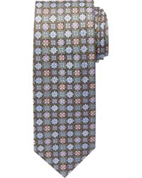 Jos. A. Bank - Signature Gold Collection Flowers & Squares Tie Clearance - Lyst