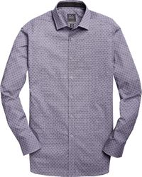 Jos. A. Bank - Travel Tech Collection Tailored Fit Spread Collar Check Men's Sportshirt - Big & Tall - Lyst