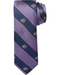 Jos. A. Bank - 1905 Collection Coat Of Arms Stripe Tie - Lyst