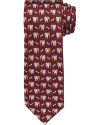 Jos. A. Bank - 1905 Collection Bulldog Tie - Lyst