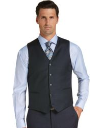 3dd04b11ae5 Lyst - Michael Kors Navy And Black Checked Sport Coat in Blue for Men
