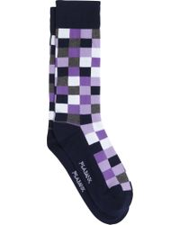 Jos. A. Bank - Check Patterned Dress Socks, 1-pair - Lyst