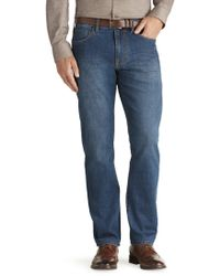 Jos. A. Bank - Joseph Abboud Traditional Fit Medium Wash Jeans - Lyst