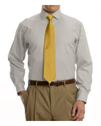 Jos. A. Bank - Traveler Collection Tailored Fit Spread Collar Dress Shirt - Lyst