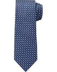 Jos. A. Bank 1905 Collection Mini Floral Tie - Blue