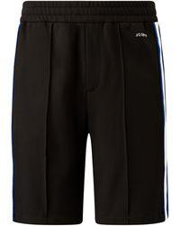 JOSEPH Sprint Jersey Track Shorts - Black