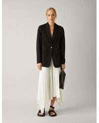 JOSEPH New Laurent Comfort Wool Jacket - Black