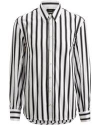 JOSEPH - Jean Marc Graphic Stripes 3 Shirt - Lyst