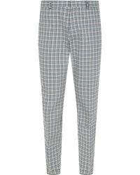 JOSEPH - Ernest Bowling Check Trousers - Lyst