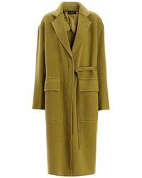 JOSEPH - Blanket Wool Silla Coat - Lyst