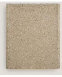 JOSEPH Tweed Knit Scarf - Natural
