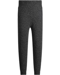 JOSEPH Mouline Knit Jog - Gray