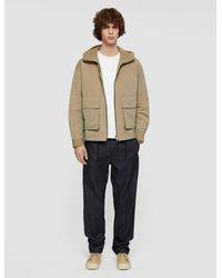 JOSEPH Cotton Tasser Jacket - Natural
