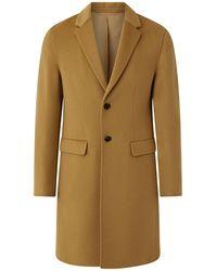 JOSEPH Double Face Cashmere Coat - Natural