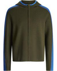 JOSEPH Sportwear Milano Knit Hoody - Green
