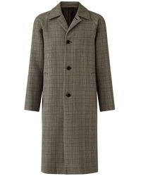JOSEPH Worsted Double Cloth Coat - Natural
