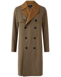 JOSEPH Covert Cloth Combi Coat - Multicolor
