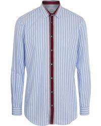 JOSEPH - Minerv Colour Stripe Shirt - Lyst