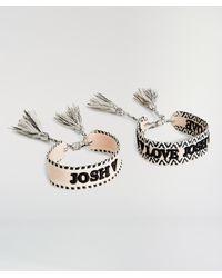 Josh V Allena Armband Set - Metallic