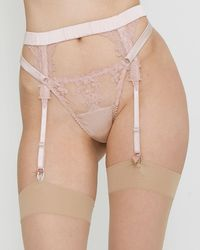 Fleur Of England - Affection Suspender Belt - Lyst