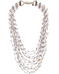 Butterfly - Bellini Strand Necklace - Lyst