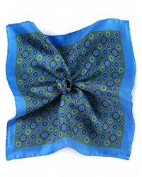 Ascot Accessories - Silk Motif Handkerchief - Lyst