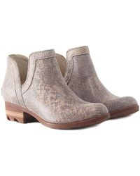 Sorel - Lolla Cut-out Ankle Boots - Lyst
