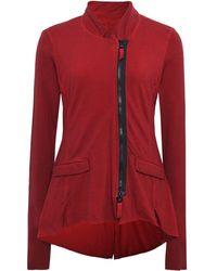 Rundholz - Jersey Zip Through Jacket - Lyst