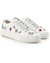 MOA - Embroidered Bug Trainers - Lyst