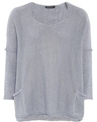 Grizas - Linen Knitted Jumper - Lyst
