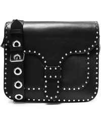 Rebecca Minkoff | Studded Leather Midnight Shoulder Bag | Lyst