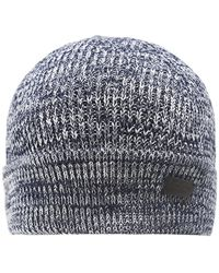 Barbour - Knitted Covesea Beanie Hat - Lyst