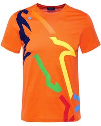 Paul And Shark - Shark Fit Jersey Rainbow Shark T-Shirt - Lyst