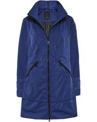 Creenstone - 3/4 Length Concealed Hood Coat - Lyst