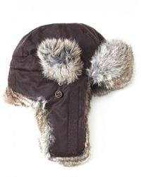 Stetson - Boulder Fur Trapper Hat - Lyst