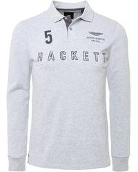 Hackett - Aston Martin Polo Shirt - Lyst