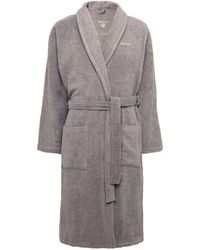 GANT - Cotton Terry Toweling Robe - Lyst