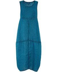 Grizas - Washed Linen Midi Dress - Lyst