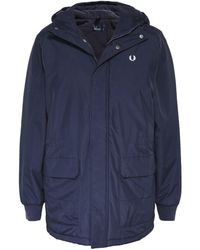 Fred Perry - Padded Stockport Parka - Lyst