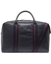 Paul Smith   Leather City Webbing Holdall   Lyst