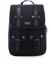 Barbour - Kick Start Wax Backpack - Lyst