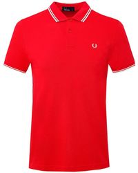 Fred Perry - Twin Tipped M3600 Polo Shirt - Lyst