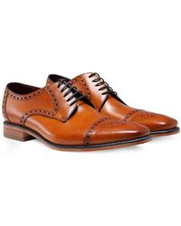 Loake | Leather Foley Derby Shoes | Lyst